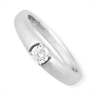 Tailor-made 18K White Gold Ring with Diamonds
