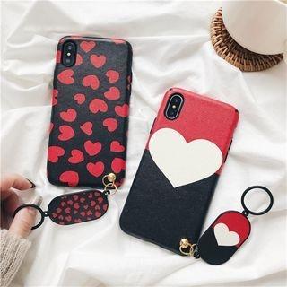 Heart Print Mobile Case - iPhone 6 / 6S / 6 Plus / 7 / 7 Plus / 8 / 8 Plus / iPhone X 1064255153