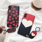 Heart Print Mobile Case - iPhone 6 / 6S / 6 Plus / 7 / 7 Plus / 8 / 8 Plus / iPhone X 1596