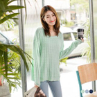 Long-Sleeve Knit Sweater 1596