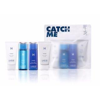 Laneige - Travel Kit (Homme Active Water): Cleanser 30ml + Toner 50ml + Balancing Emulsion 50ml + Cream 20ml 4pcs 1060996245