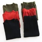 Set: Ribbed Long-Sleeve Knit Sweater + Pleated Mini Skirt 1596
