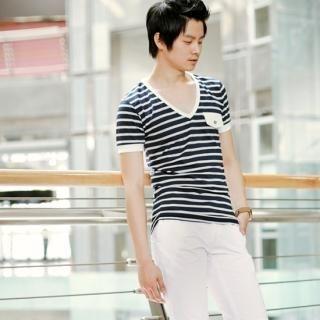 Buy G-NARU V-Neck T-Shirt 1023032582