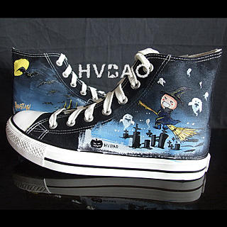 Buy HVBAO Halloween Night High-Top Sneakers 1012358034