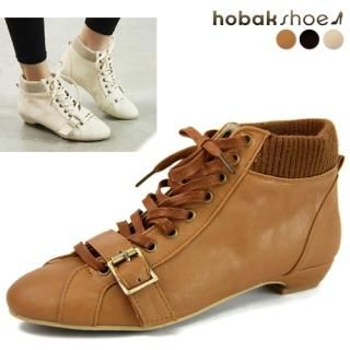 Picture of HOBAK girls Ankle Boots 1023068449 (Boots, HOBAK girls Shoes, Korea Shoes, Womens Shoes, Womens Boots)