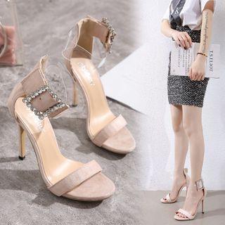 Rhinestone | Stiletto | Buckle | Sandal | Heel