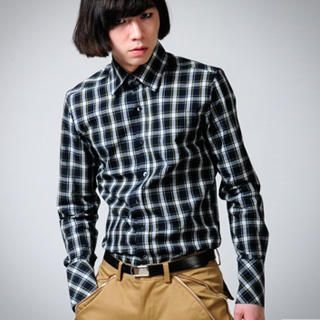 Picture of deepstyle Check Shirt 1022413451 (deepstyle, Mens Tees, Korea)