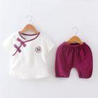 Kids Set: Short-Sleeve T-Shirt + Shorts 1596