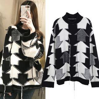 Arrow Patterned Sweater 1063681149