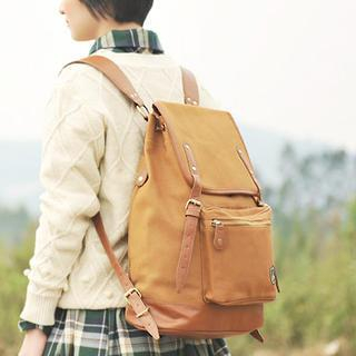 Piped Backpack