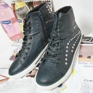 Buy With Mocha High Top Sneakers 1022221795