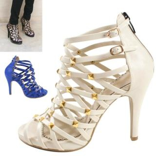 Buy Blingstyle Shoes Studded Sandals 1022706360