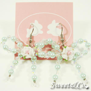 Swarovski | Crystal | Earring | Green | Rose