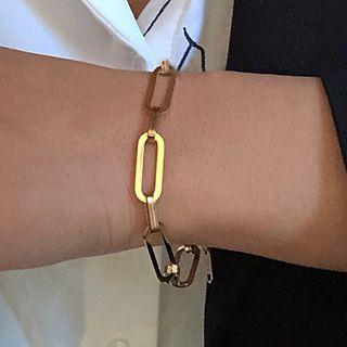 Bracelet | Hoop | Gold | Size | One