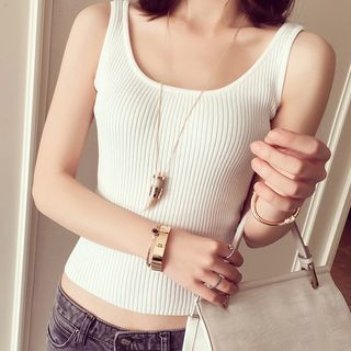 Ribbed Tank Top 1056776727