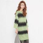 Pattern Knit Dress 1596