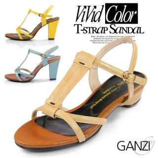 Picture of ganzi T Strap Sandals 1022868022 (Sandals, ganzi Shoes, Korea Shoes, Womens Shoes, Womens Sandals)