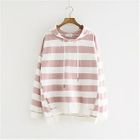 Zip Side Striped Hoodie 1596