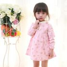 Kids Frilled Floral Dress 1596