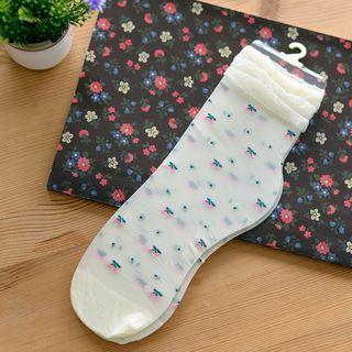 Cherry Glass Socks 1052895476