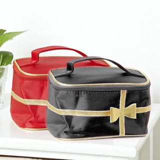 Picture of 19th Street Bow-Accent Cosmetic Bag 1021222138 (19th Street, Other Bags, China Bags, Womens Bags, Other Womens Bags)