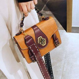 Two Tone Crossbody Bag