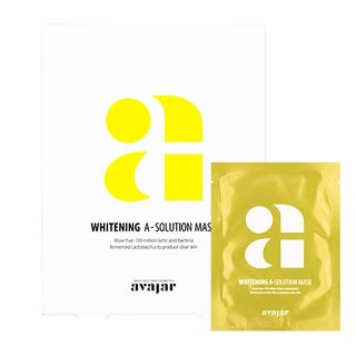 Image of avajar - A-Solution Mask Set - 4 Types Whitening