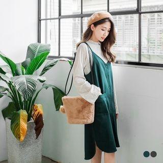 Vented Slip Dress 1056959212