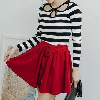Chiffon Skirt Shorts
