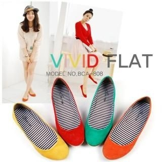 Buy Miz shoes Suede Flats 1022504312