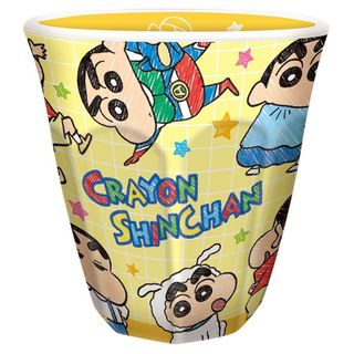 Crayon Shin-Chan Printed Plastic Cup (Yellow) 1063575016