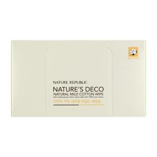 Nature Republic - Natures Deco Natural Mild Cotton Wipe 80pcs 80pcs 1050364463