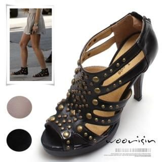 Picture of Woorisin Metal Studded Sandals 1022461686 (Sandals, Woorisin Shoes, Korea Shoes, Womens Shoes, Womens Sandals)