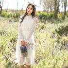 Long Sleeve Lace Dress 1596