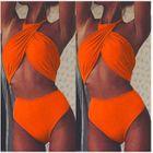 Halter Cross Bikini 1596