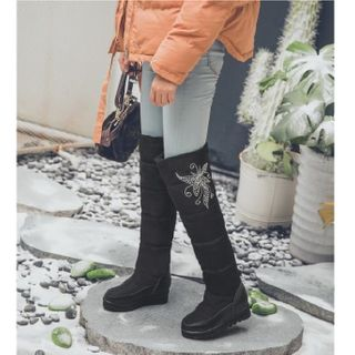 Platform   Snow   Boot