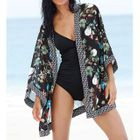 Floral Print Swimsuit Cover-Up 1596