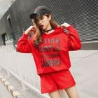 Set: Lettering Hoodie + Shorts 1596