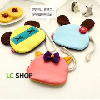 Animal Appliqu  Coin Purse
