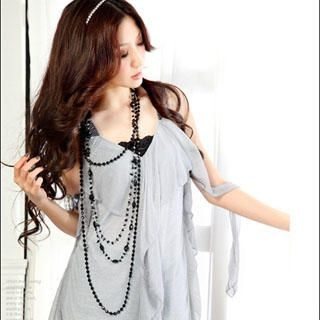 Buy Tian Mu Ruffle Chiffon Dress 1023047018