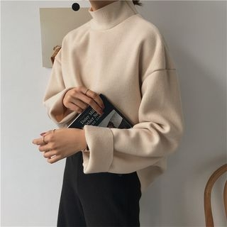 Mock-neck Long-Sleeve T-shirt 1064041868
