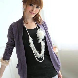 Buy eFashion Short-Sleeve Printed Long T-Shirt 1022977360