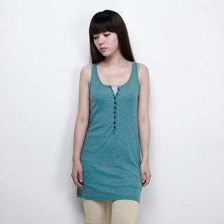 Buy MoDN Button-Front Tank Dress 1023053783
