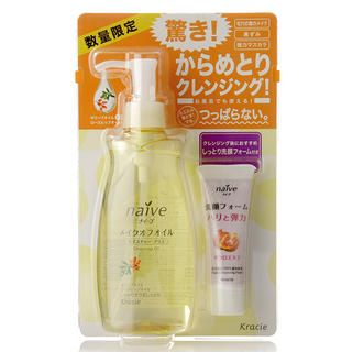 Buy Kanebo – Kracie Na ve Cleansing Oil Set: Cleansing Oil 250ml + Facial Cleansing Foam 20g 2 pcs