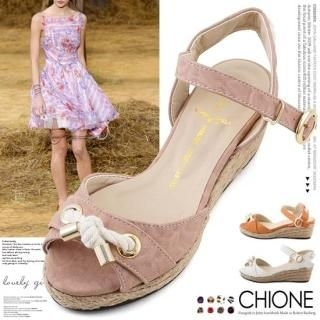 Buy Chione Ankle-Strap Wedge Sandals 1023068351