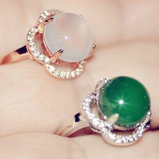 Rhinestone   Gemstone   Earring