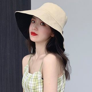 Reversible | Bucket | Black | Size | Hat | One
