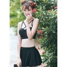 Set: Strappy Bikini + Skirt 1596