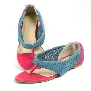 Picture of CLICK Woven Sandals 1022871180 (Sandals, CLICK Shoes, Korea Shoes, Womens Shoes, Womens Sandals)
