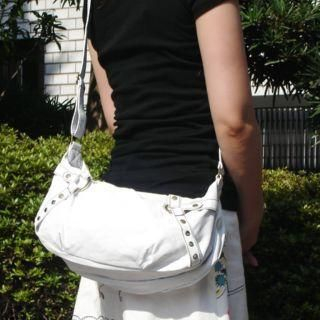 Picture of anello Belted Hobo Bag White - One Size 1005014086 (anello, Hobo Bags, Japan Bags, Womens Bags, Womens Hobo Bags)